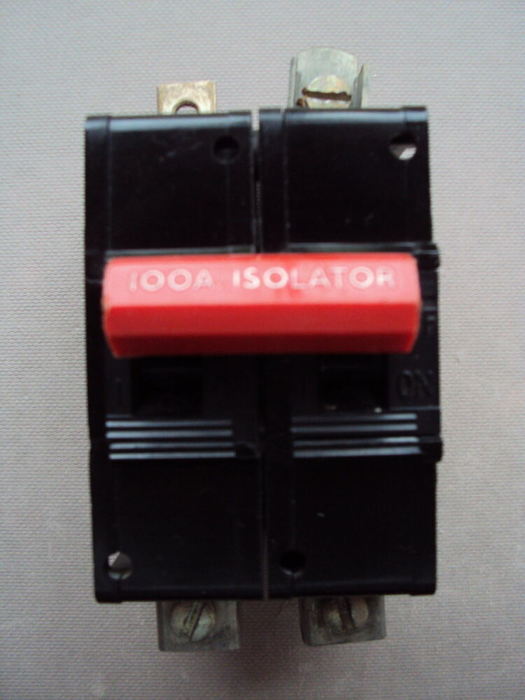 dorman smith series 15 dorman smith loadmaster 100a isolator m3 bs3871 main switch disconnector