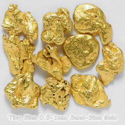 Kyпить 10 pcs Alaska Natural Gold - Tiny 0.5-1mm Sand-Sized Gold (#.5-1) на еВаy.соm