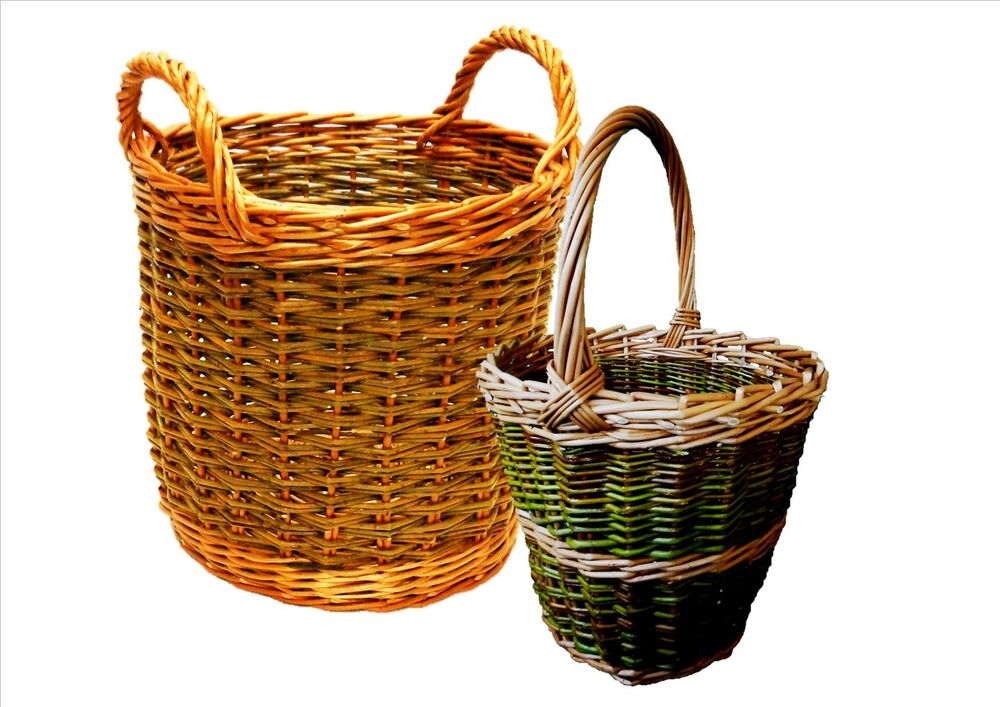 Basket Weaving Tools Beginners : Make these willow apple berry baskets weaving kits