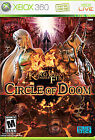 Kingdom Under Fire: Circle of Doom (Microsoft Xbox 360, 2008) GAME DISC ONLY