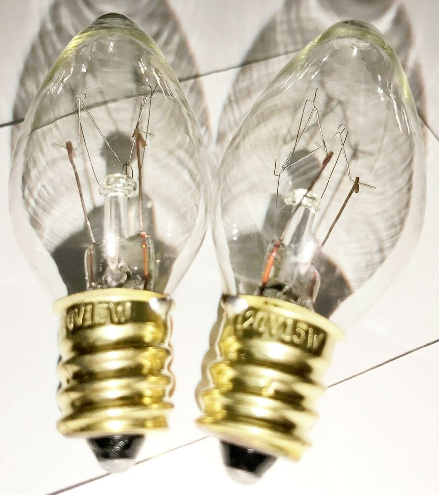 2 Pack Himalayan Salt Lamp Bulbs 15 Watt 120 Volt 15w Bulb
