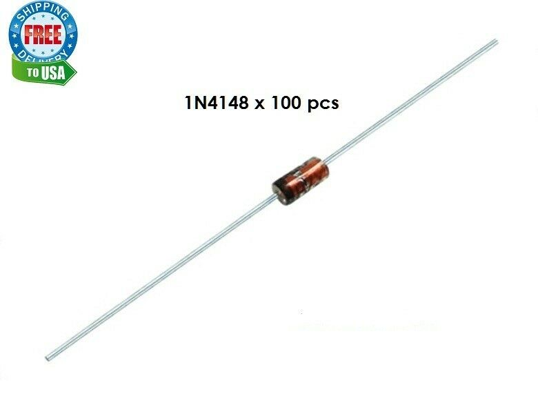 100 x 1n4148 switching signal diode
