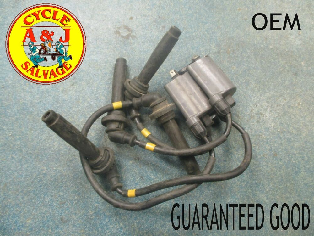 1990 1993 kawasaki zx 11 ignition coils spark plug wires and coils guaranteed ebay. Black Bedroom Furniture Sets. Home Design Ideas