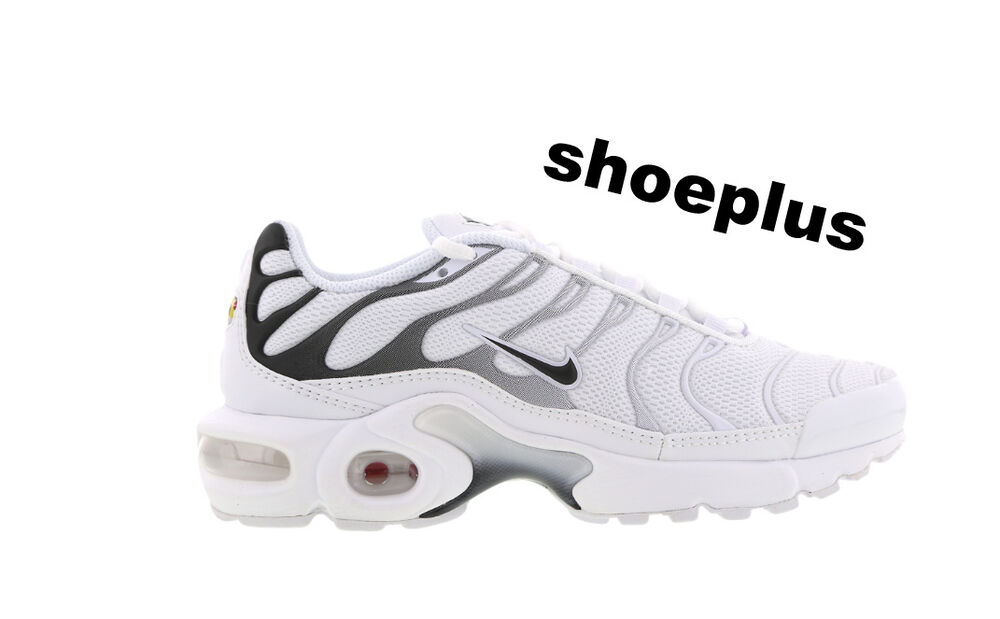 "fb1034736a6 Details about Nike Air Max Plus Tuned 1 Tn ""White-Black-White"" Unisex  Trainer Limited Edition"