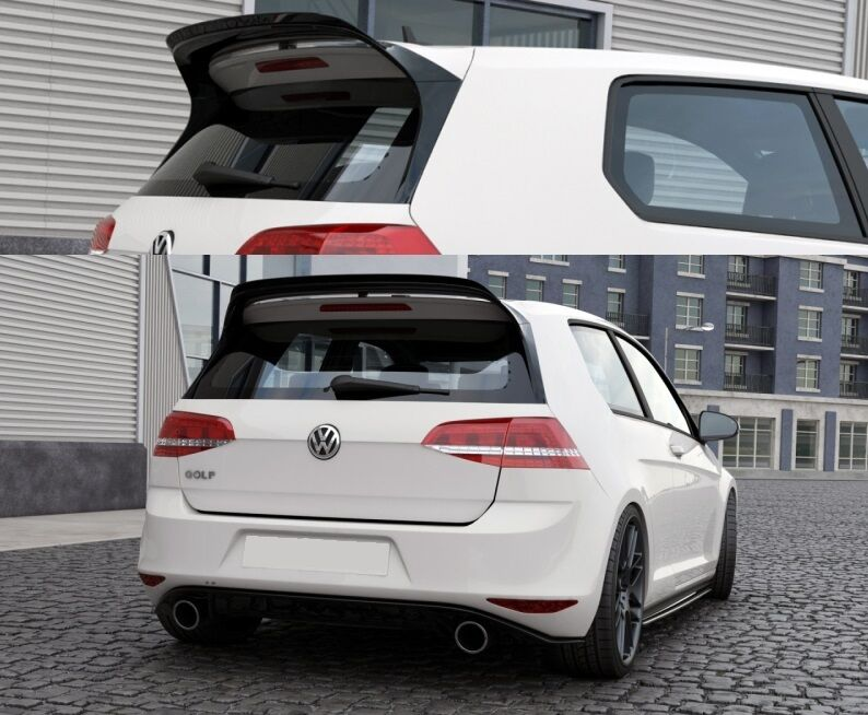 vw golf 7 vii gti clubsport heckspoiler spoiler ansatz. Black Bedroom Furniture Sets. Home Design Ideas