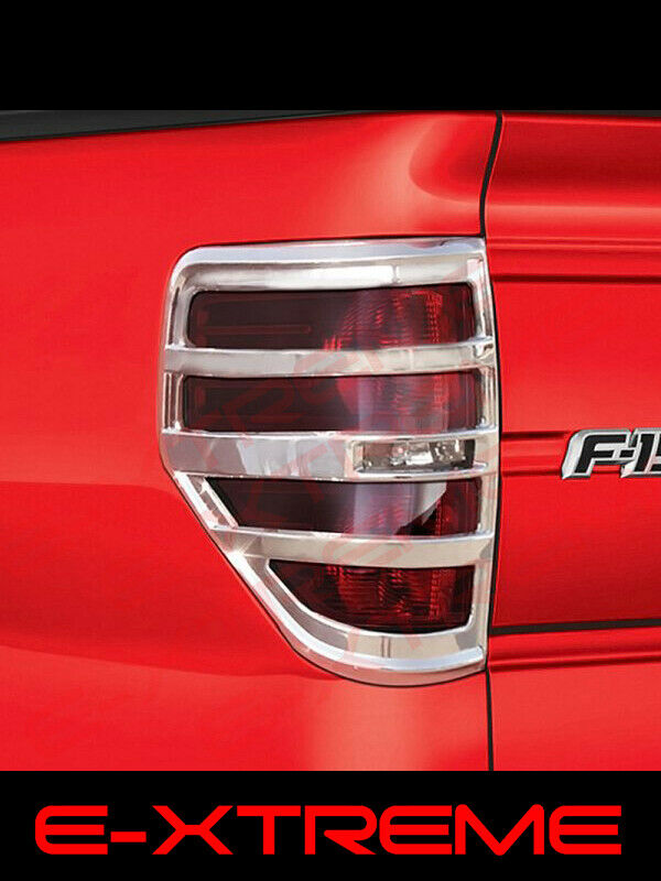 Ford F 150 F150 Chrome Tail Lights Covers Bezel 2009 2010