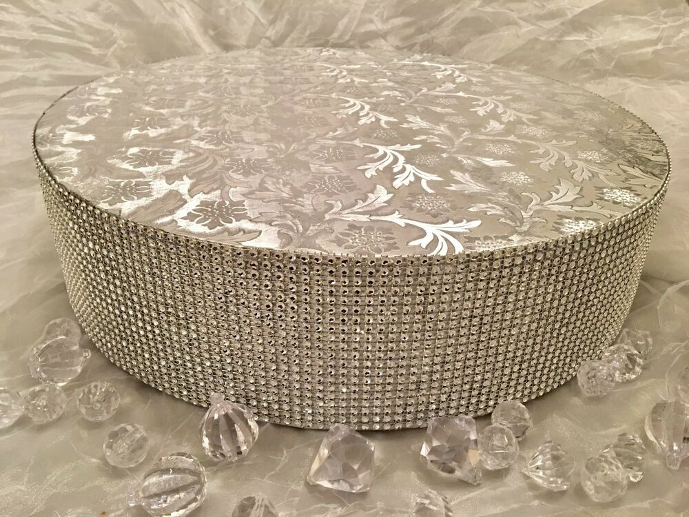 gold bling wedding cake stand wedding cake stand silver gold rhinestone bling 16 14747