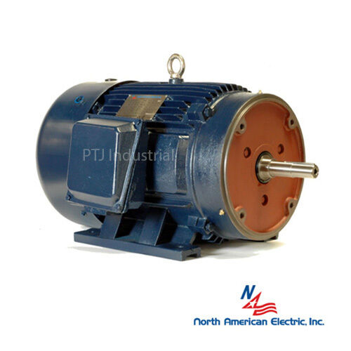 7 5 Hp 213jm Electric Motor Close Coupled Pump 3600 Rpm 3