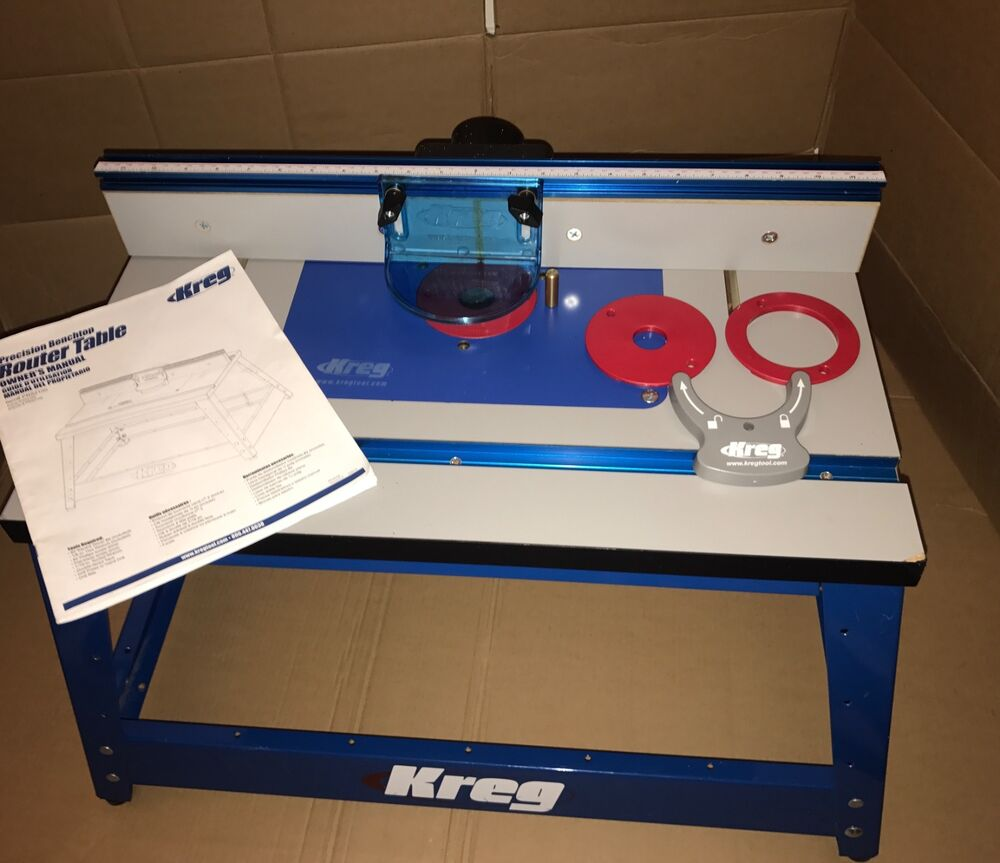 kreg router table new kreg prs2100 precision benchtop router table routing 28924