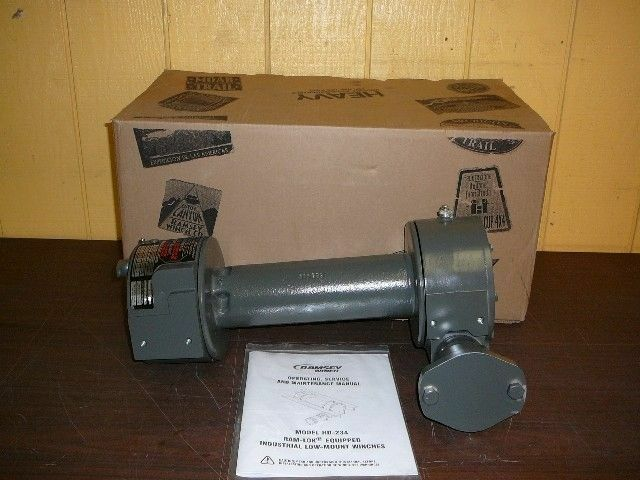 Hydraulic Worm Gear Winches : Jerr dan ramsey pound capacity worm gear winch