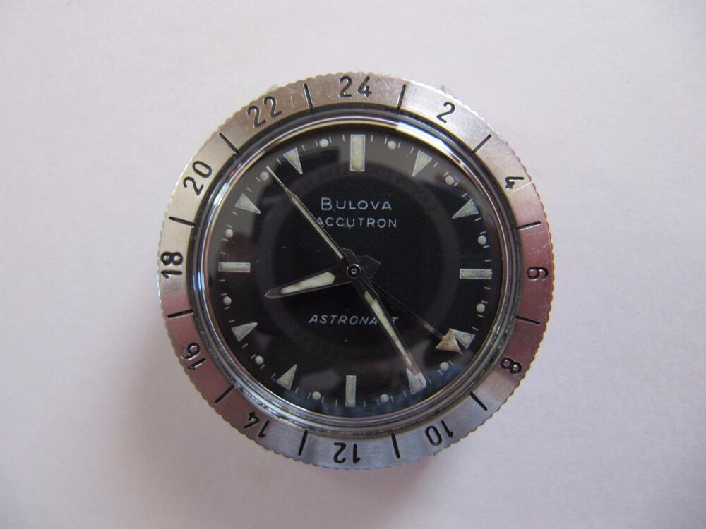 VINTAGE 1969 (M9) BULOVA ACCUTRON 214 STAINLESS STEEL ...