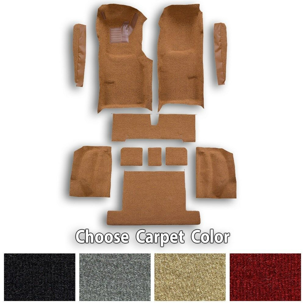 Complete Cutpile Molded Replacement Carpet Kit