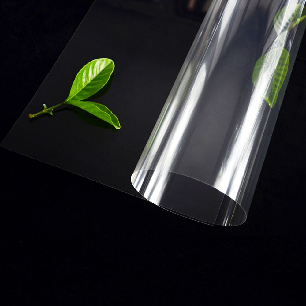 Clear Oil Proof Pvc Transparent Wipe Clean Tablecloth