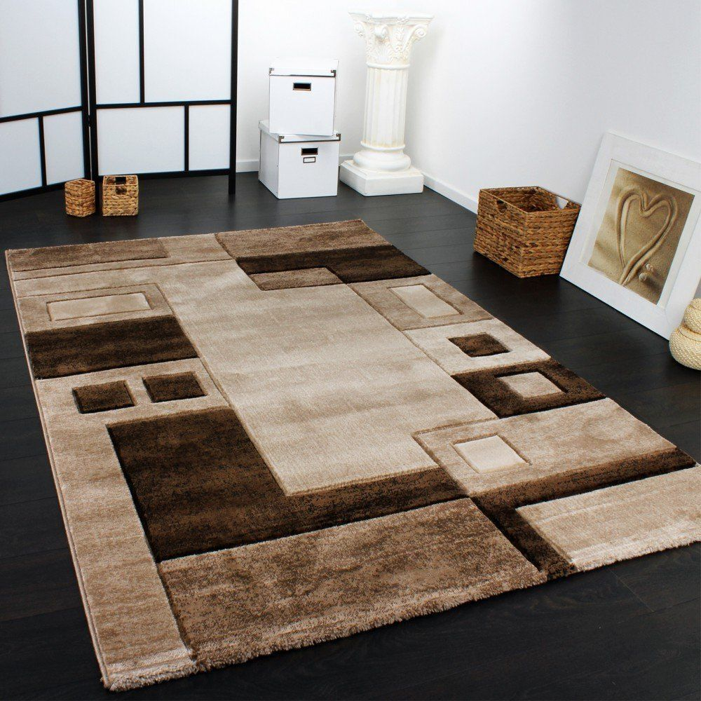 small extra large rug brown designer rugs modern classic design carpets area mat ebay. Black Bedroom Furniture Sets. Home Design Ideas
