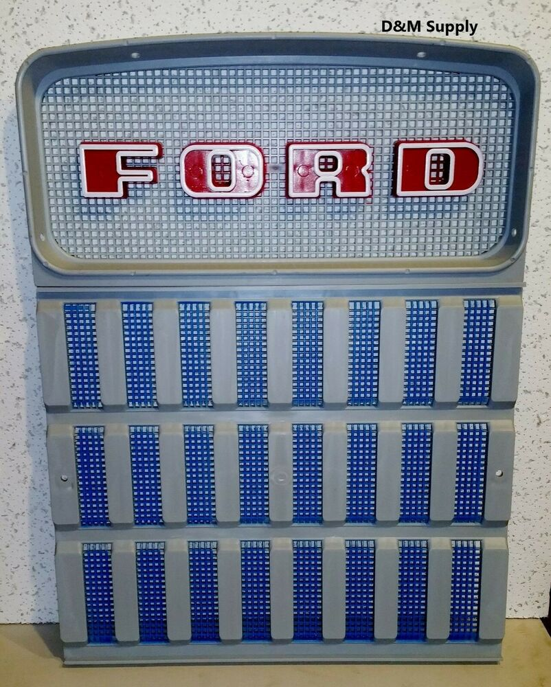 Ford 3000 Tractor Grill : Ford tractor front grill set