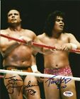 Superfly Jimmy Snuka & Tonga Kid Signed 8x10 Photo PSA/DNA COA WWE Autograph WWF