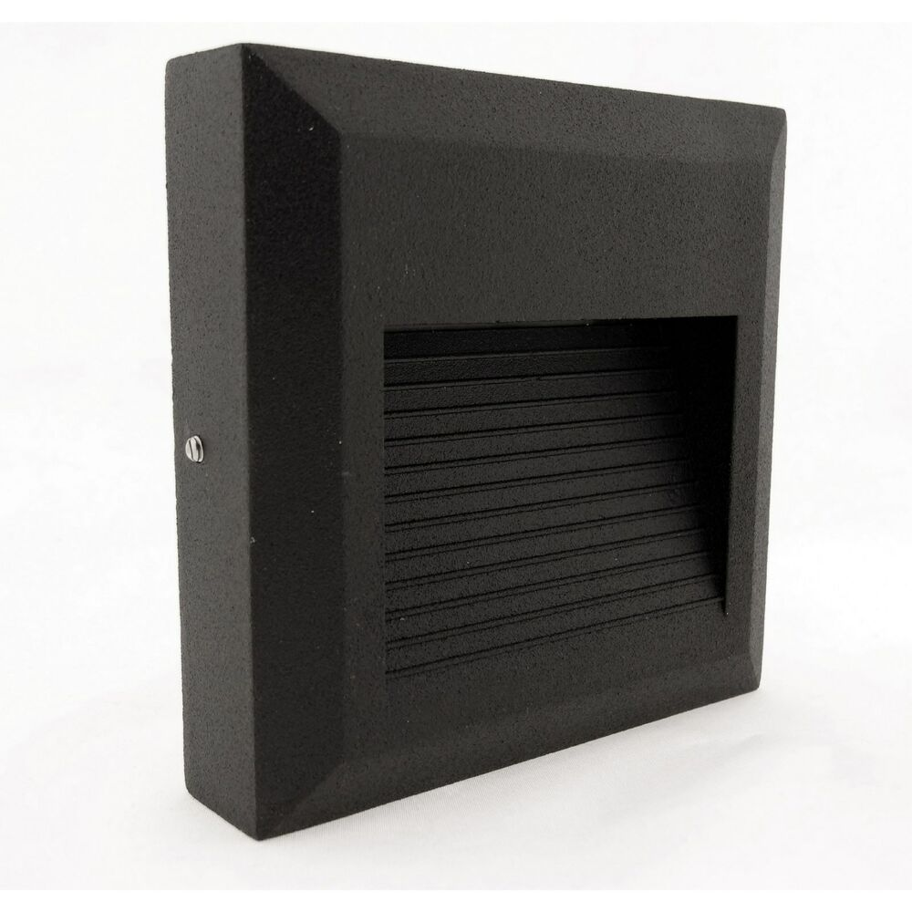 Outdoor Wall Light Bright: GARDEN OUTDOOR IP54 BRICK WALL LED SUPER BRIGHT WHITE