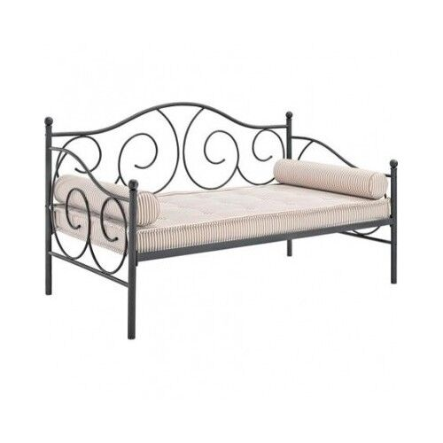 Twin metal bed frame sofa couch ebay Metal bed frame twin