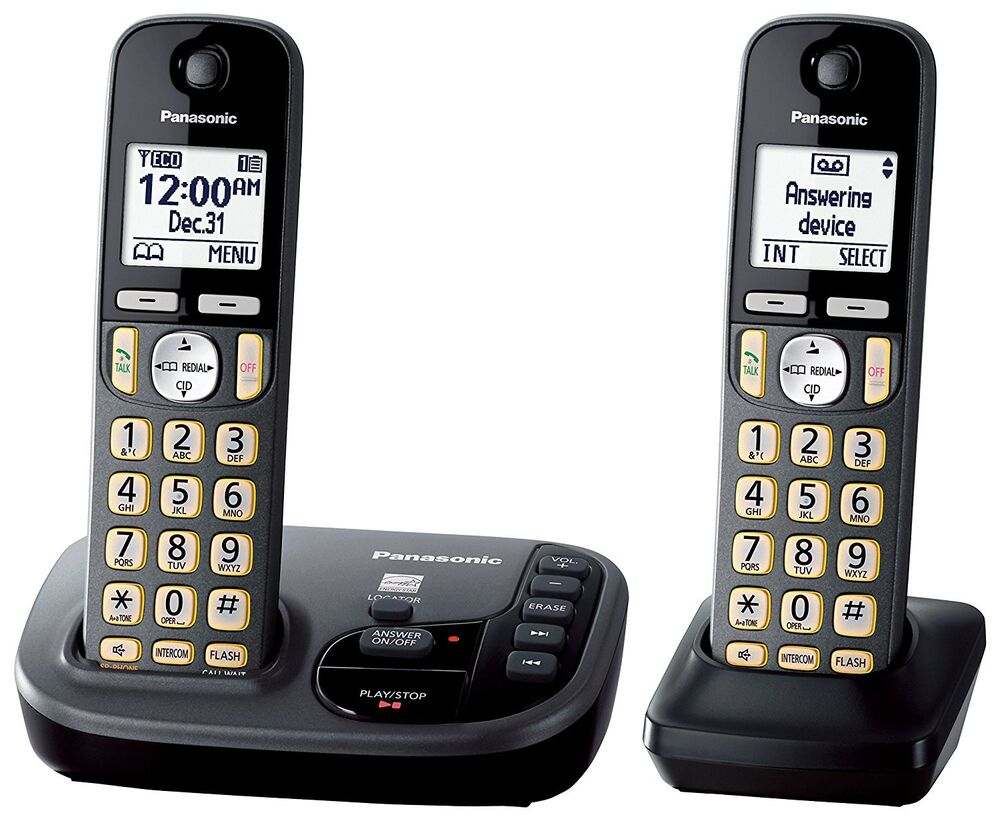 Panasonic cordless phone Dect 6 0 User Manual plus Link2cell