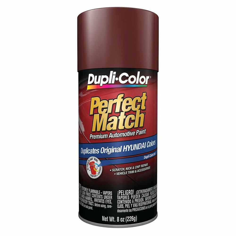 Duplicolor Bhy1801 For Hyundai Code Dr Dark Cherry Red Aerosol Spray Paint Ebay