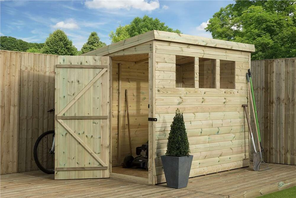 8x6 sheds for sale how to build a shed extension cheap for Plastic pent shed