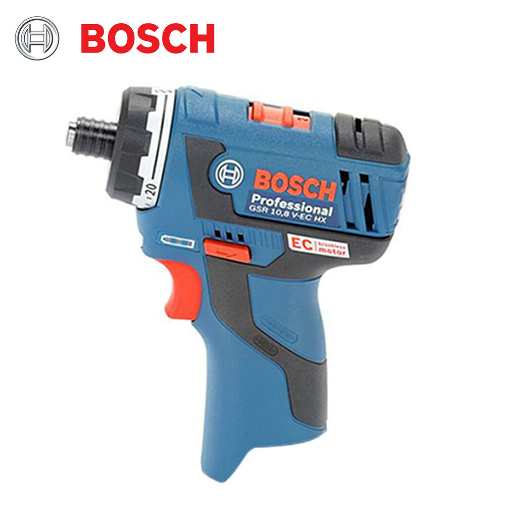 bosch gsr 10 8v ec hx professional cordless drill driver bare tool body only ebay. Black Bedroom Furniture Sets. Home Design Ideas