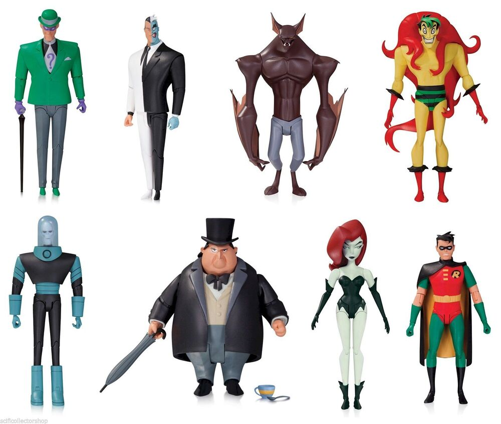 DC, Animated Series Action Figures Catalog - DASH Action ...