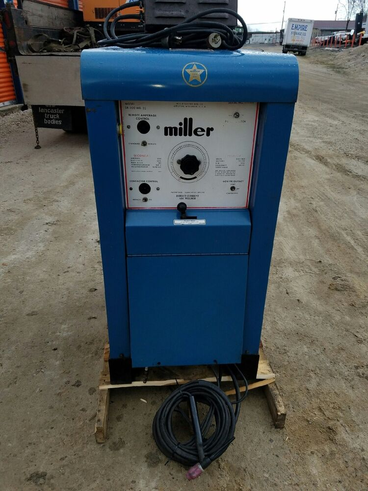 Miller direct current arc welder sr 300 wr 32 ebay - Webaccess leroymerlin fr ...