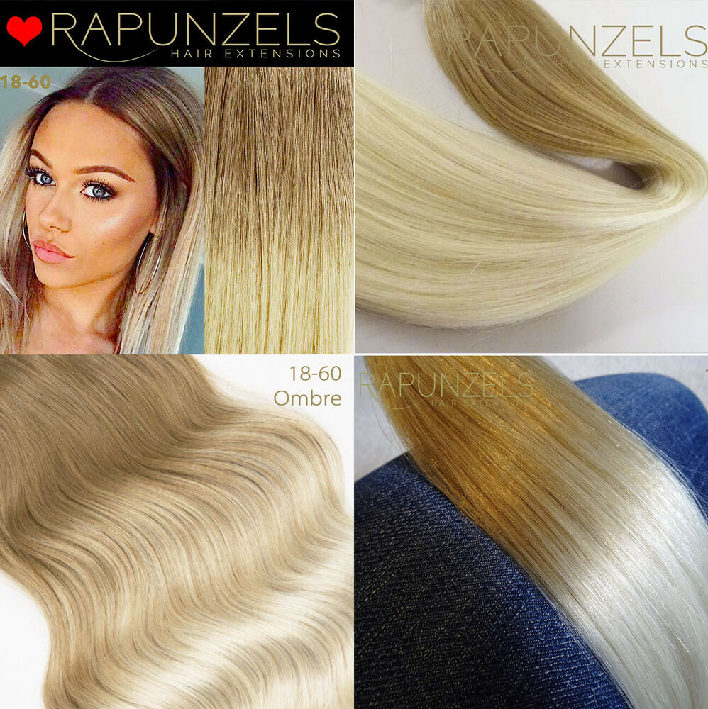 18 20 Blonde Ombre Weft Hair Extensions Weave Weft La Weave