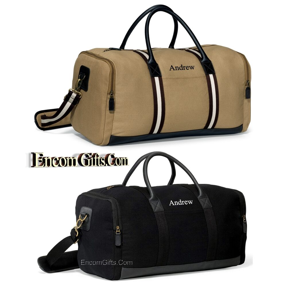 Personalized Duffel Travel Tote Luggage Carry On Weekender