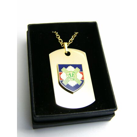 img-THE SCOTS GUARDS BADGE DOG TAG PENDANT MILITARY GIFT IN BOX