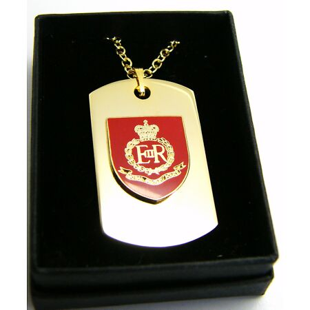 img-THE ROYAL MILITARY POLICE BADGE DOG TAG PENDANT MILITARY GIFT IN BOX
