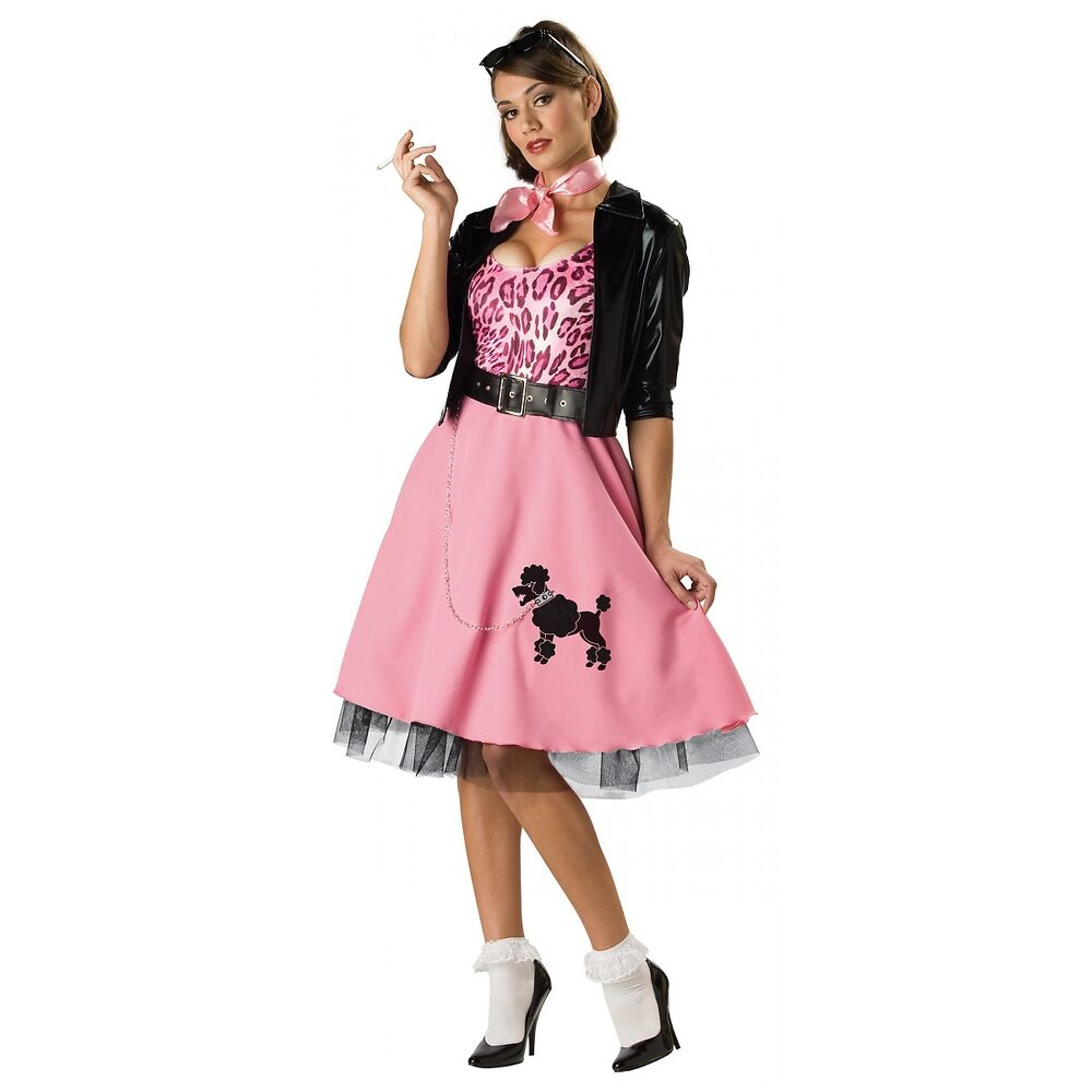 50 s bad poodle skirt 1950s costume fancy