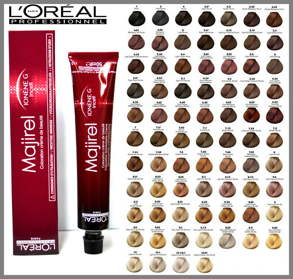 Loreal L Oreal Professional Majirel Majirouge Blonde Hair