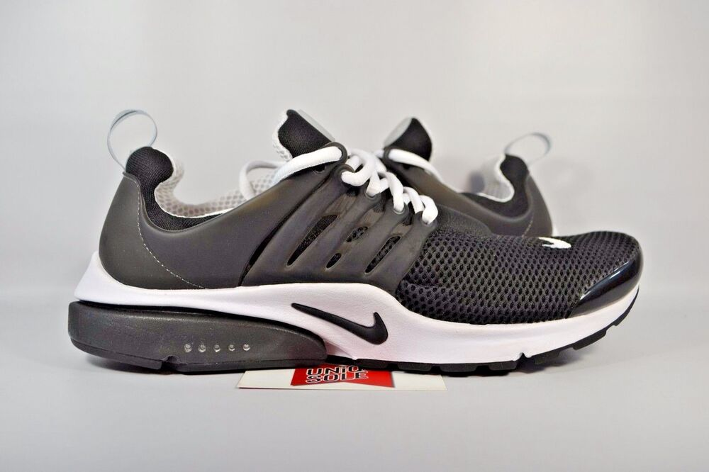 NEW Nike Air Presto BR Breeze QS BLACK WHITE OREO 789869-001 sz 3XS (6-7  Men)  bb34af3cf