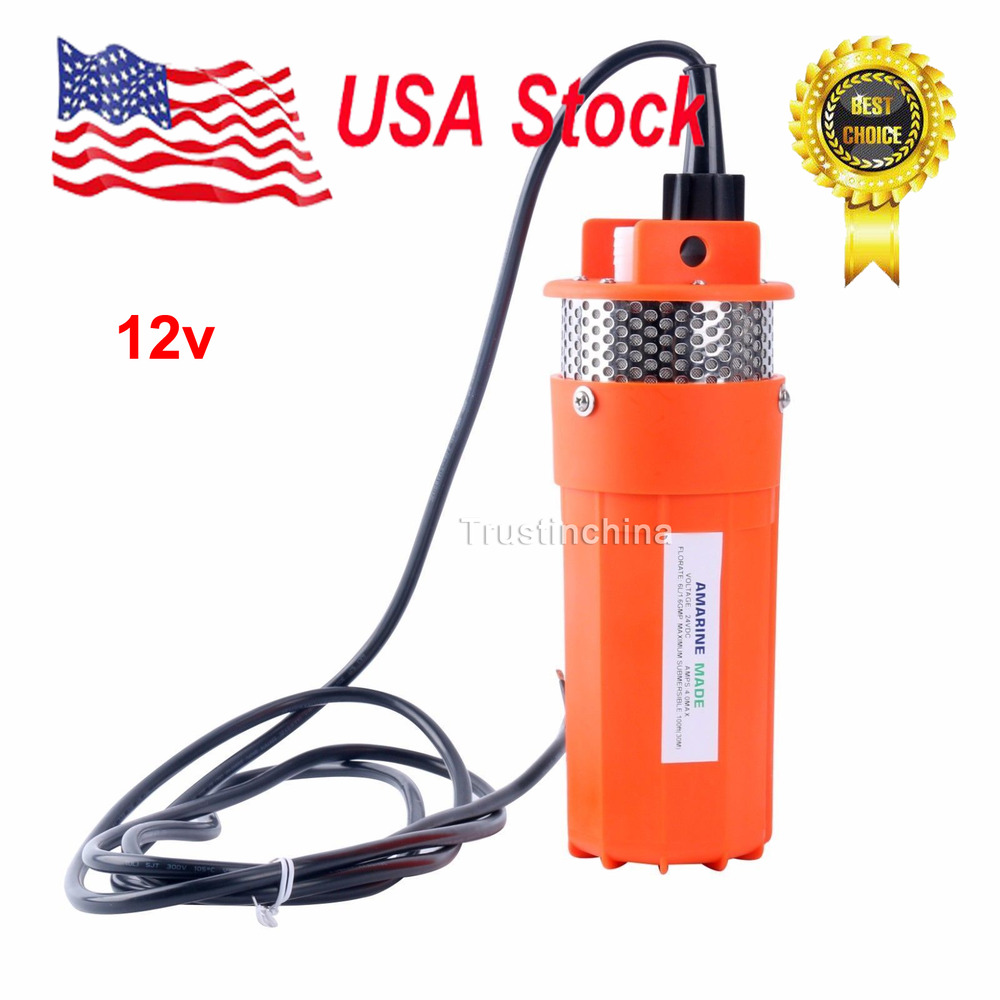 12v Submersible Deep Well Water Dc Pump Alternative Energy