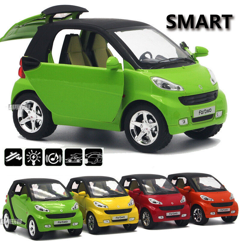 4 Color Smart Diecast Car Model Kids Toy Vehicle Learning ...