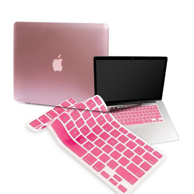 Rose Gold Rubberized Case Cover For Macbook Air 11 13 Quot Pro