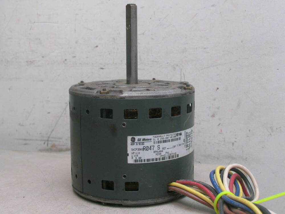 Ge Motors 5kcp39kgr047s Furnace Blower Motor 1 2hp 1050rpm