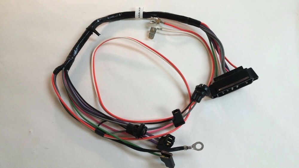 1968 Camaro Center Console Wiring Harness Automatic ...