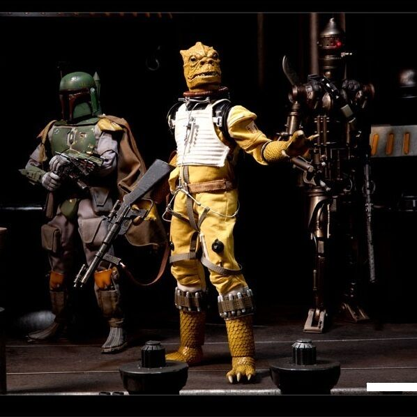 star wars boosk bounty hunter 12 quot 1 6th sixth scale