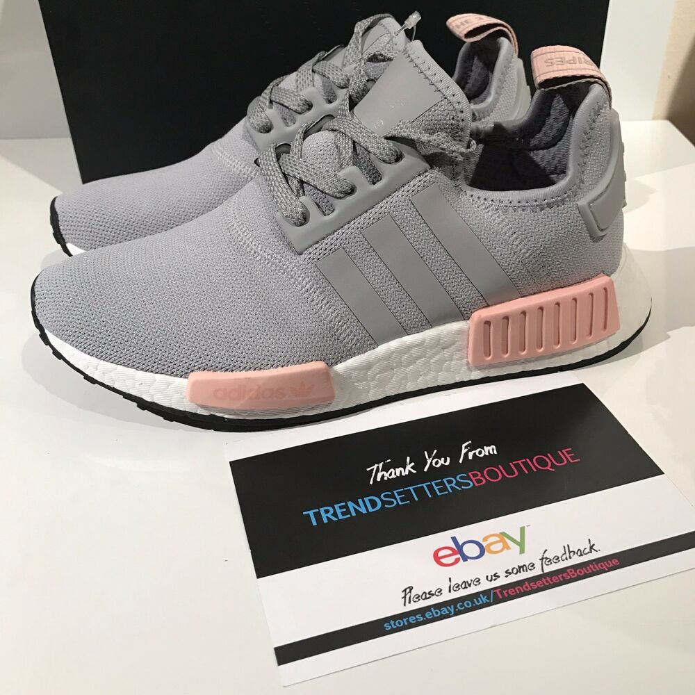 Details about ADIDAS NMD US UK 4 5 6 7 8 9 10 PINK GREY WOMENS R1 OFFICE  BY3058 VAPOR ONIX RAW cc1d8a9fb