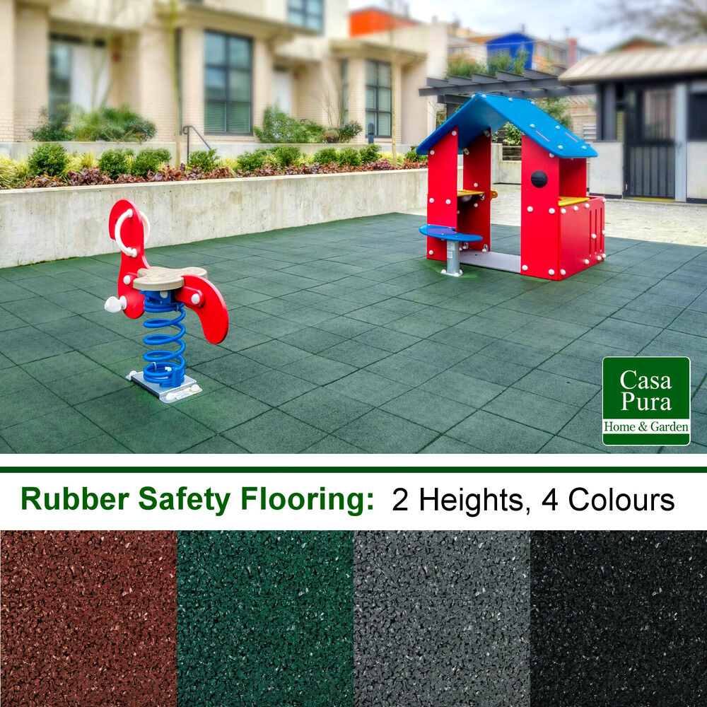 Rubber Safety Mats Playground Area Flooring Fall