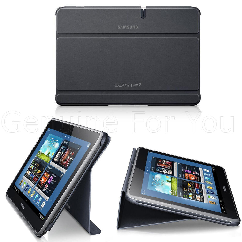 Genuine Samsung Book Folio Case Cover Stand For Galaxy Tab ...
