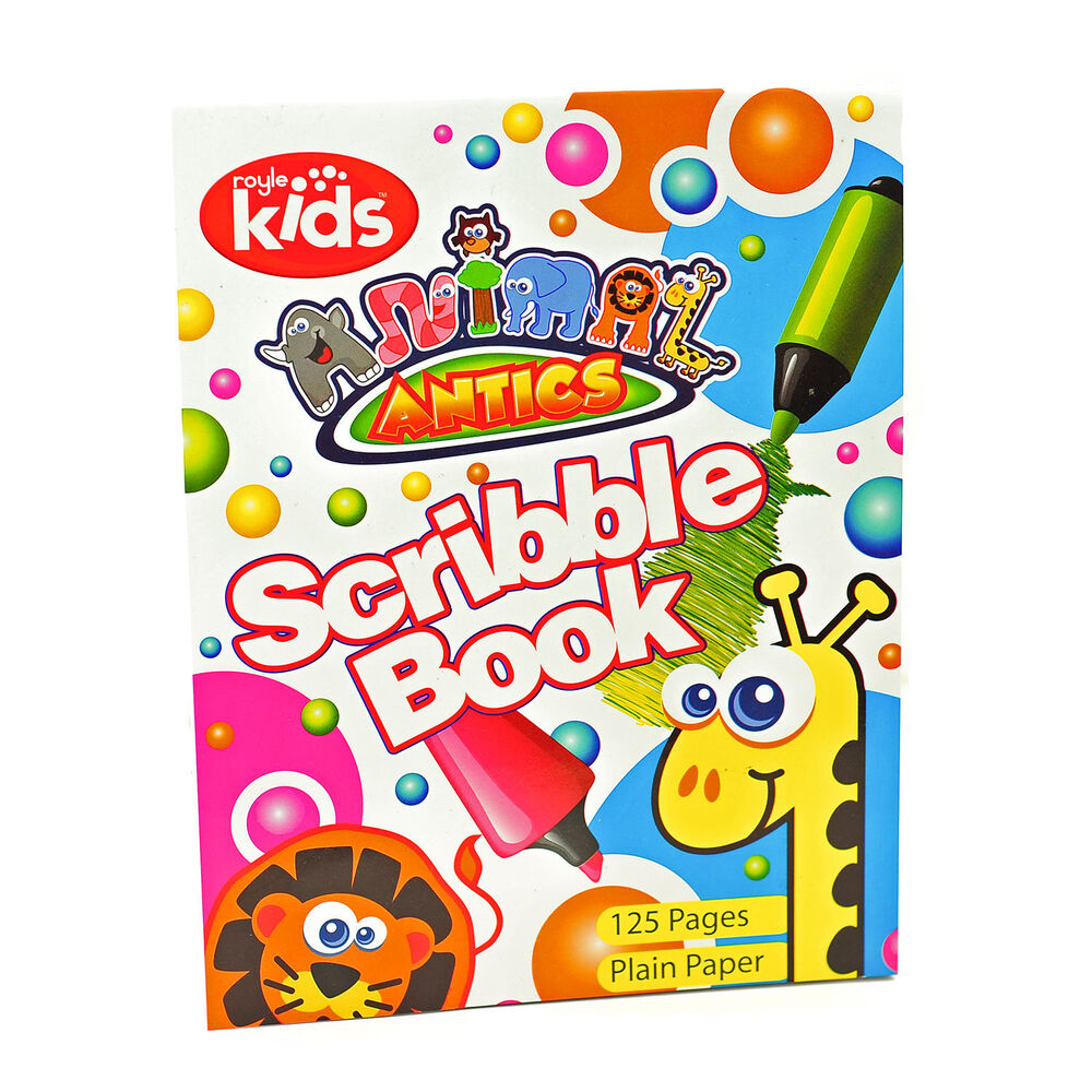 Scribble Drawing Uk : Children s scribble drawing note pad sketching book