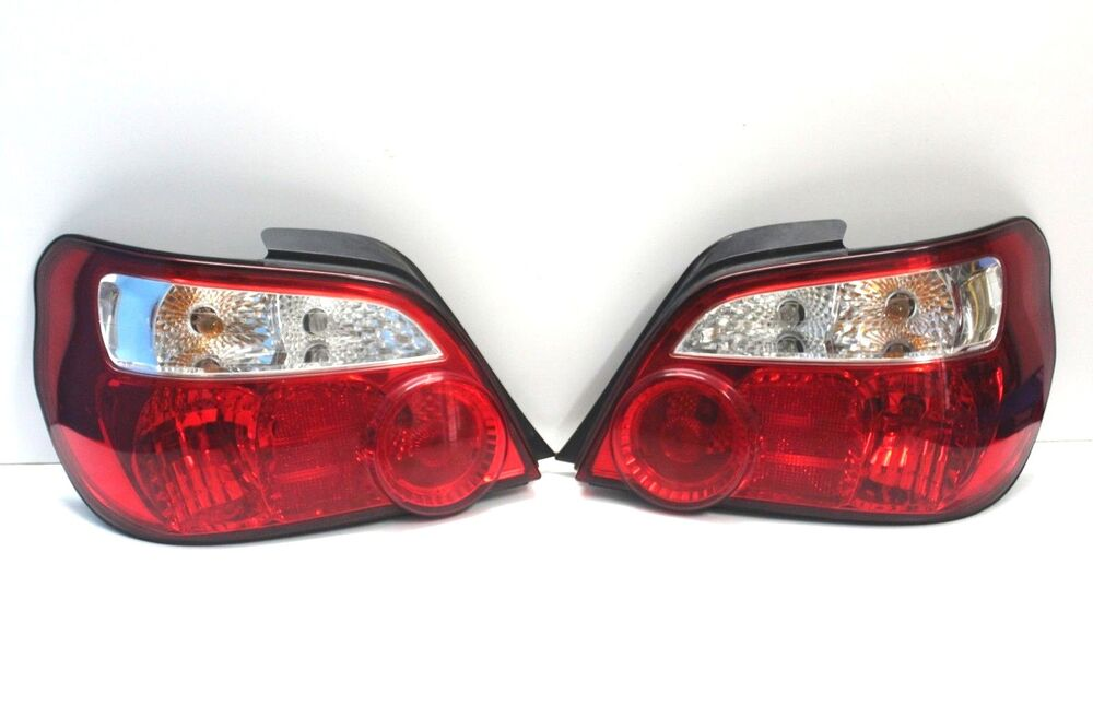 jdm subaru impreza wrx sti gda gdb tail lamp rear light 04. Black Bedroom Furniture Sets. Home Design Ideas