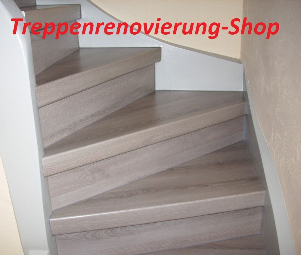 treppen laminat treppenstufenprofil treppenkantenprofil laminat treppenprofil ebay. Black Bedroom Furniture Sets. Home Design Ideas