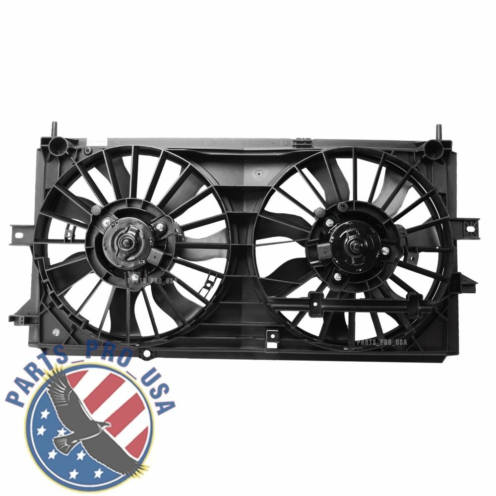 Radiator Condenser Cooling Fan For Chevy Fit Impala Monte