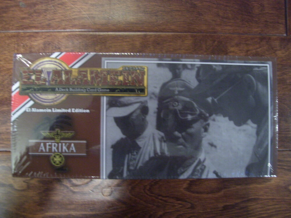 arclight gift card new quot el alamein quot afrika deck building card game from 5663
