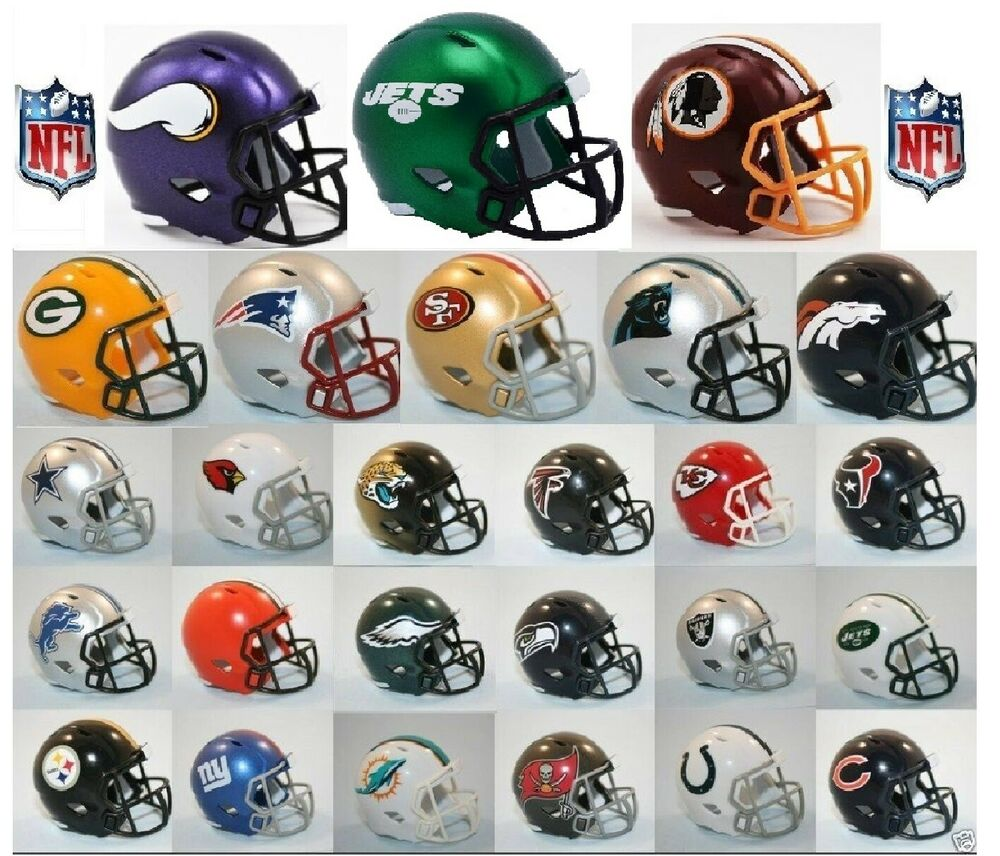 NFL Riddell NFL SPEED POCKET PRO Mini Helmet PICK YOUR TEAM eBay